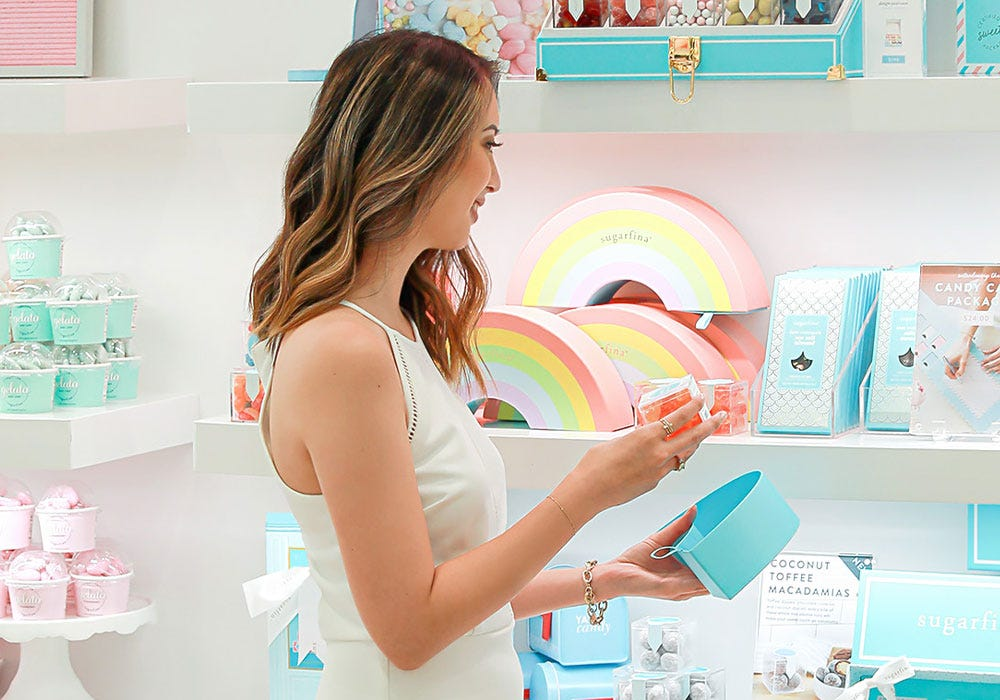 Join Sugarfina Rewards, our free rewards program, and Join now and get rewarded every time you treat a friend or yourself.