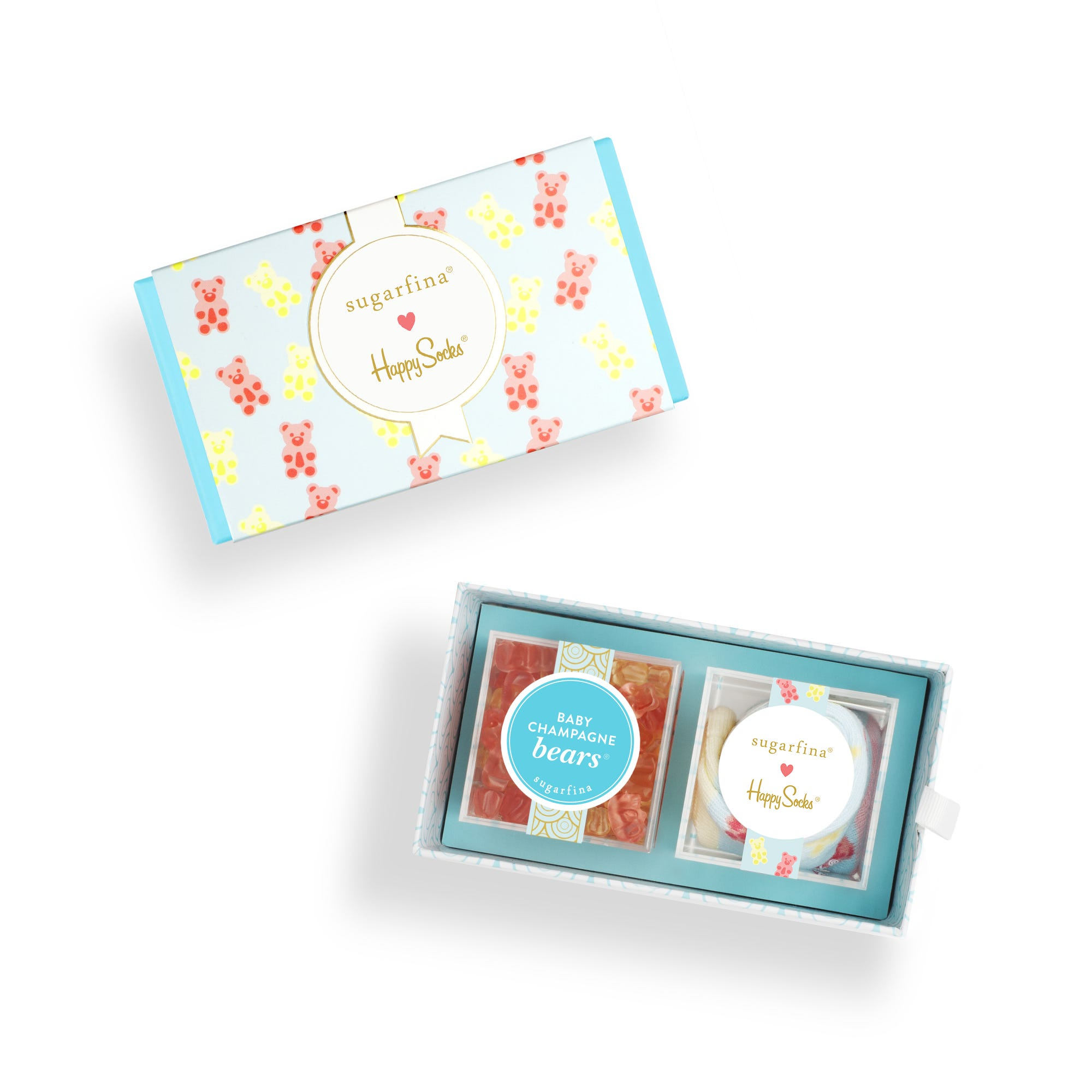 Lil Sweets & Socks 2pc Candy Bento Box®