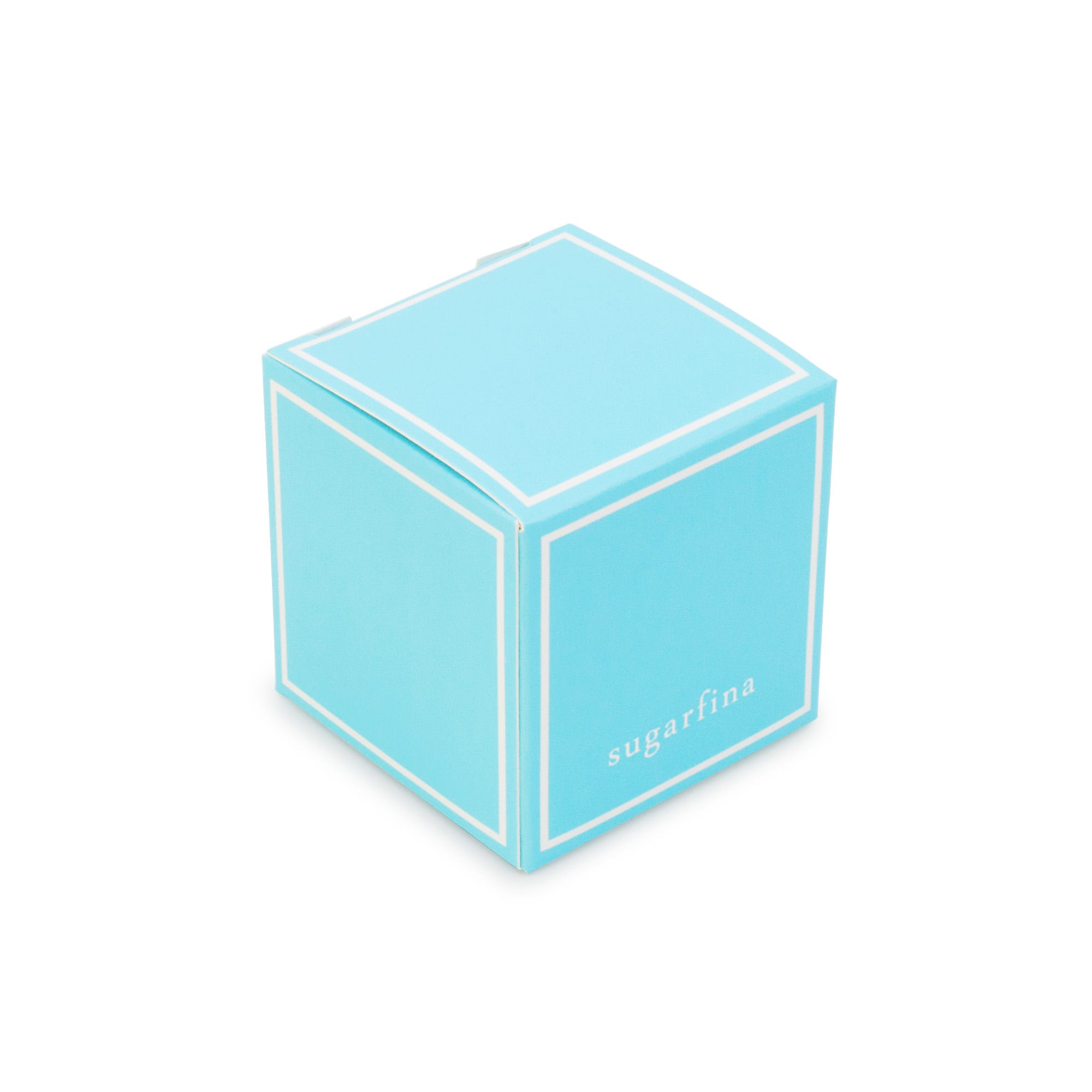 Small Single Candy Cube Blue Box