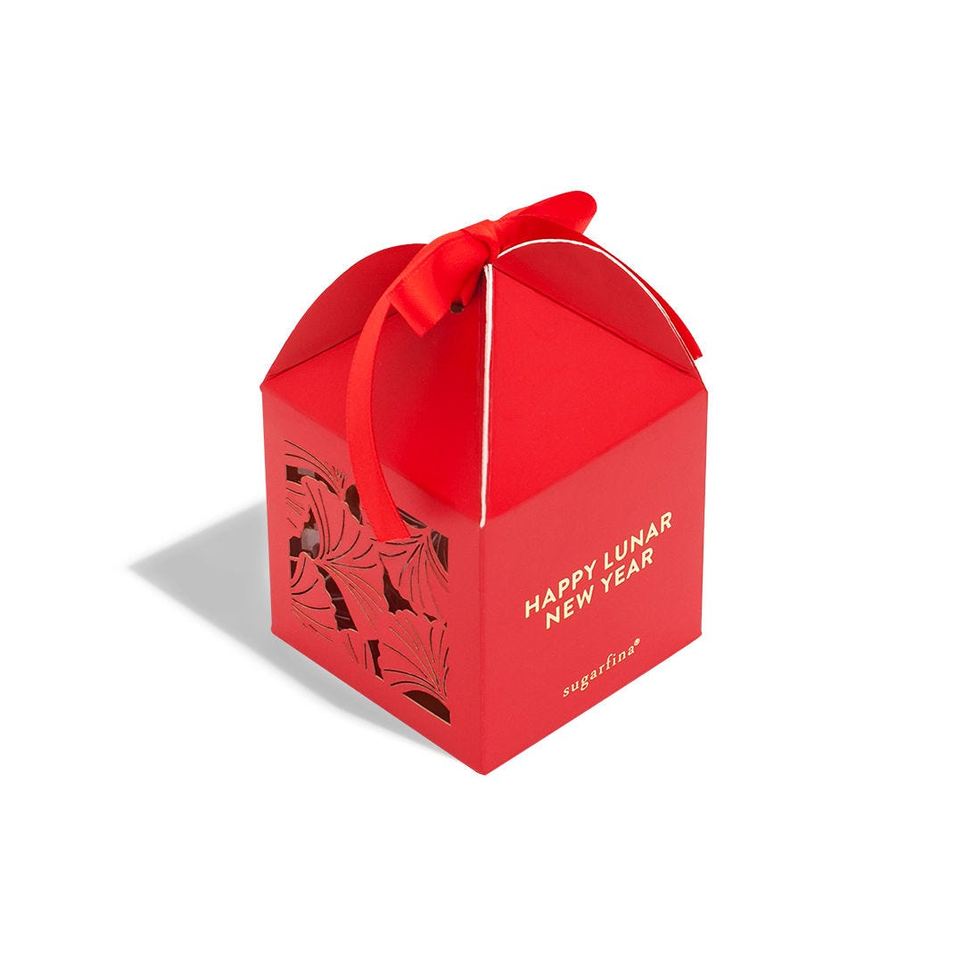 Lunar New Year Lantern Candy Cube Gift Box