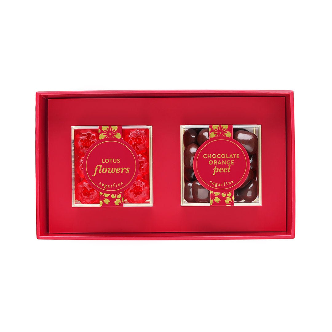 Lunar New Year 2 Piece Candy Bento Box