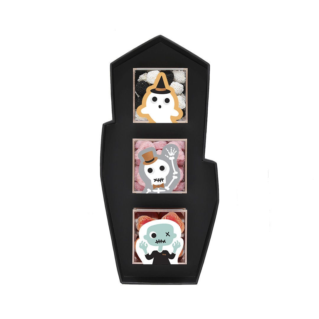 Haunted House 3 Piece Candy Bento Box