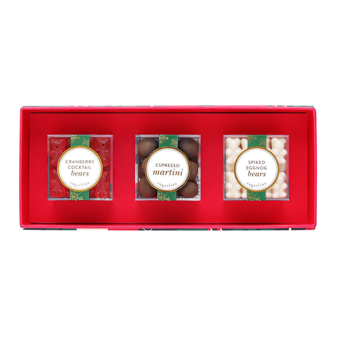 Holiday Sips 3 Piece Candy Bento Box