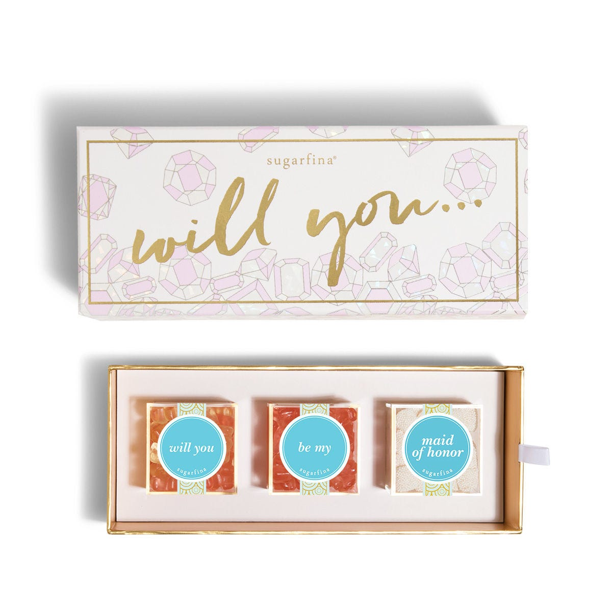 Will You Be My Maid of Honor 3pc Candy Bento Box®