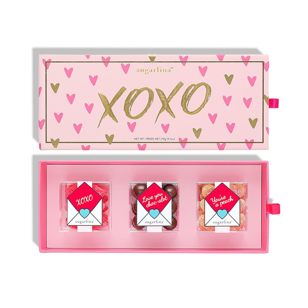XOXO 3 Piece Candy Bento Box