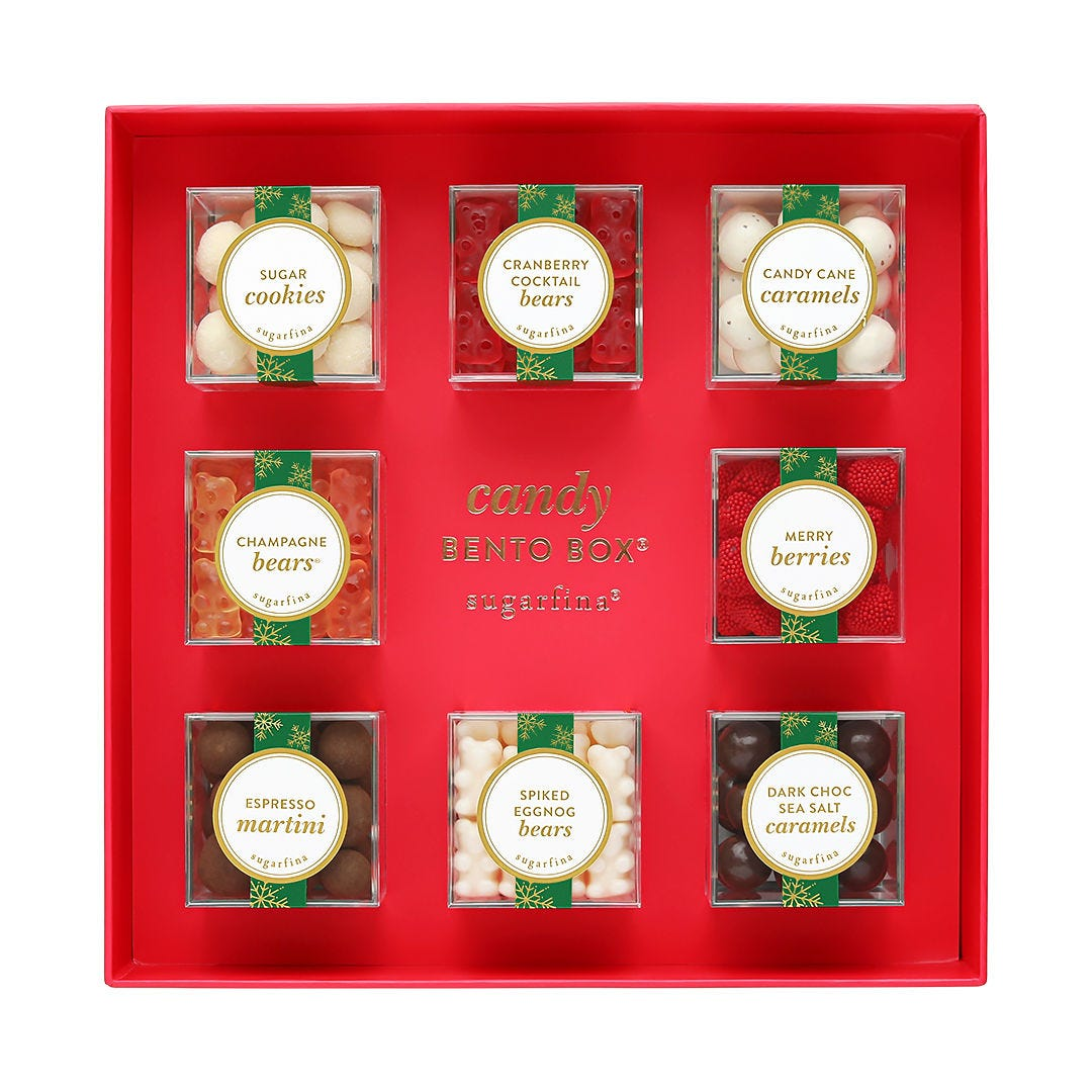 Holiday Cravings 8 Piece Candy Bento Box