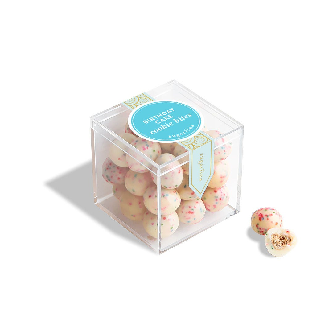 Birthday Cake Cookies - Small Candy Cube