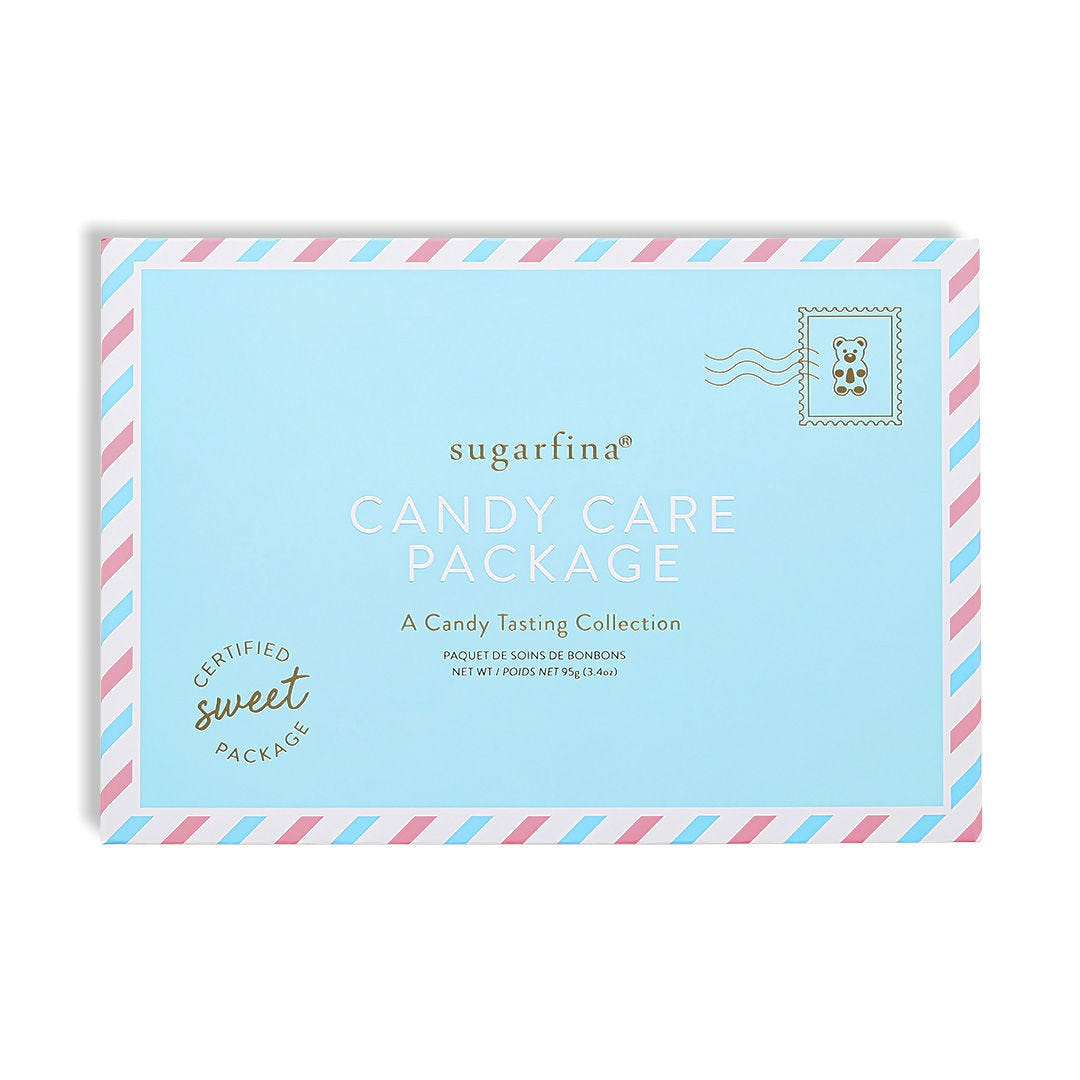 Candy Care Package with Handwritten Note
