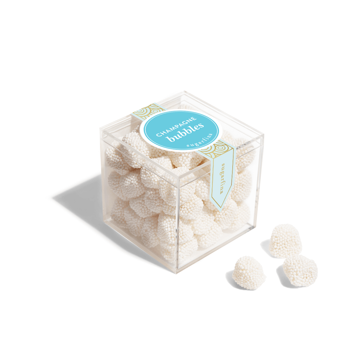 Champagne Bubbles - Small Candy Cube
