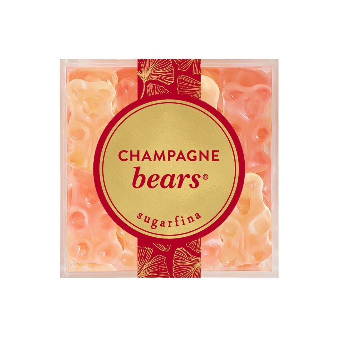 Lunar New Year: Champagne Bears® Candy Cube