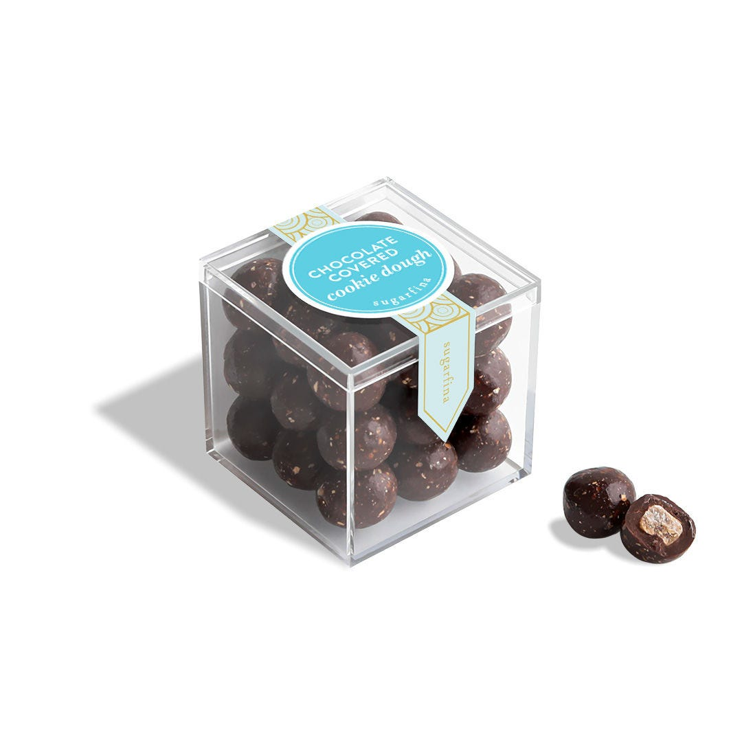 Chocolate Covered Cookie Dough - Small Candy Cube