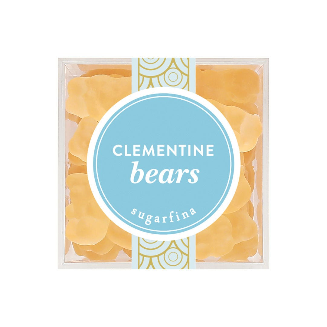 Clementine Bears Candy Cube