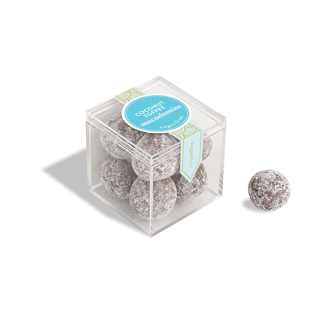 Coconut Toffee Macadamias Small Candy Cube