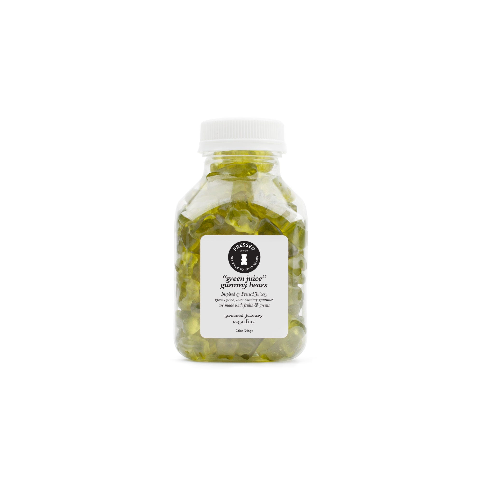 Green Juice Bears - Medium Bottle