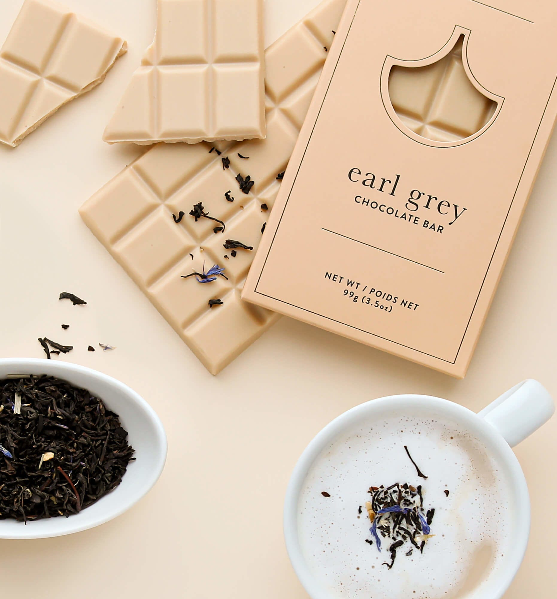 Earl Grey Chocolate Bar