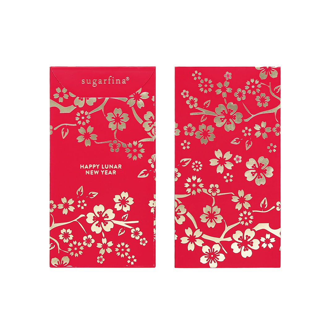 Lunar New Year Lucky Red Envelopes (Pack of 5)