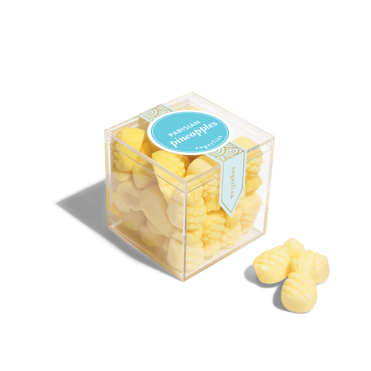 Parisian Pineapples - Small Candy Cube