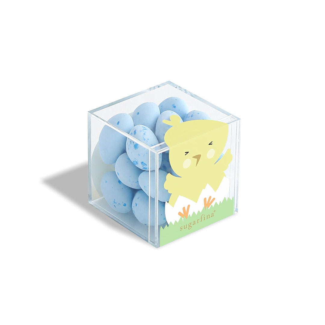 Robin's Egg Caramels Chick Candy Cube