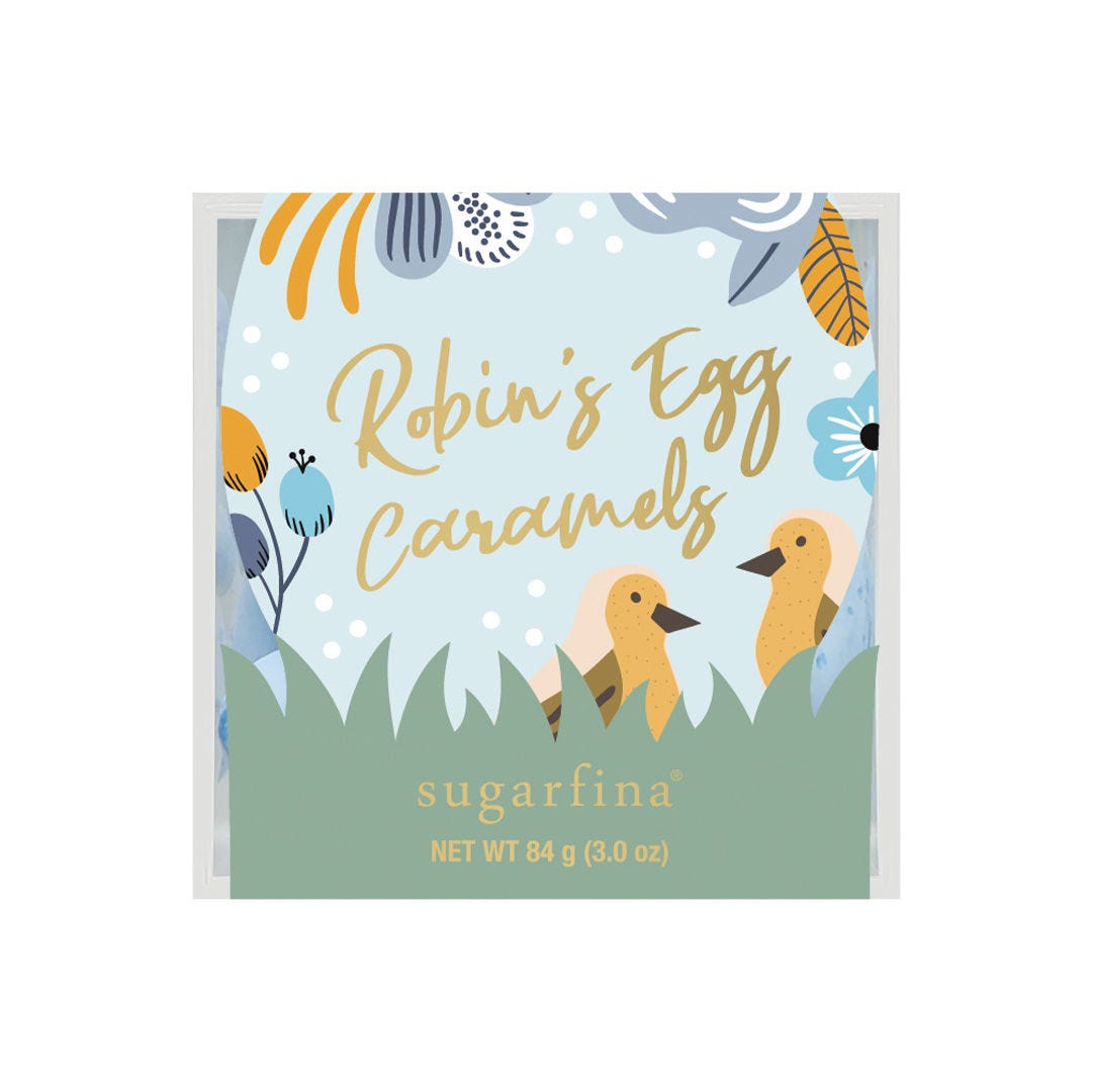 Robin's Egg Caramels Candy Cube