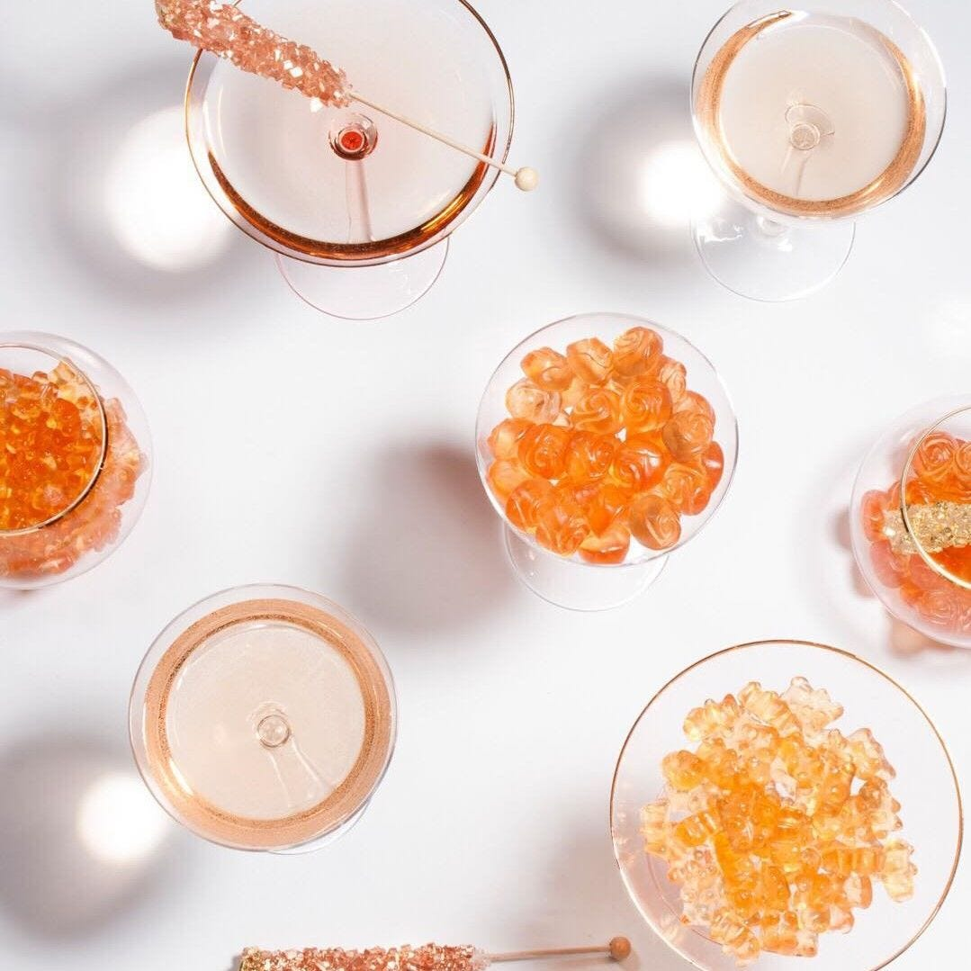 But First, Rosé Roses