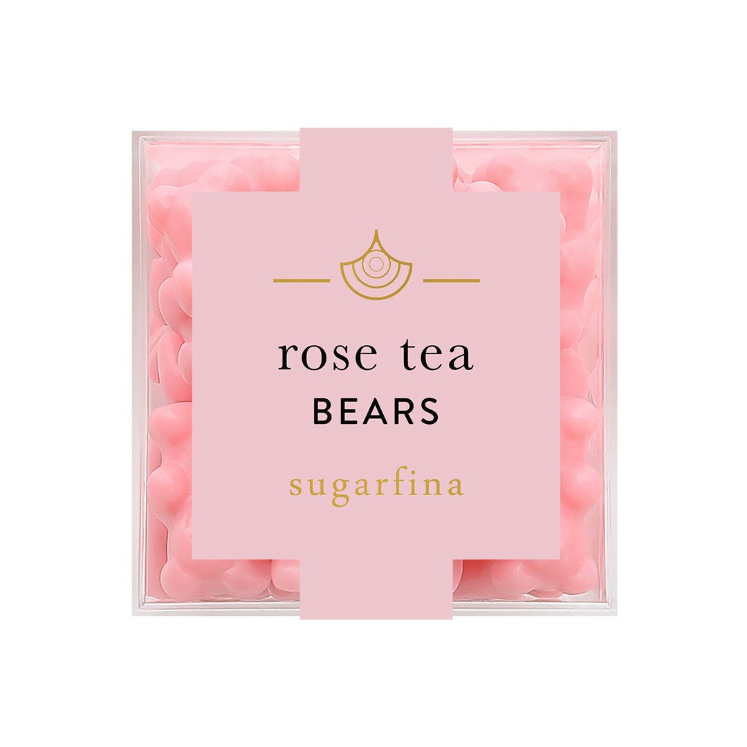 Rose Tea Bears