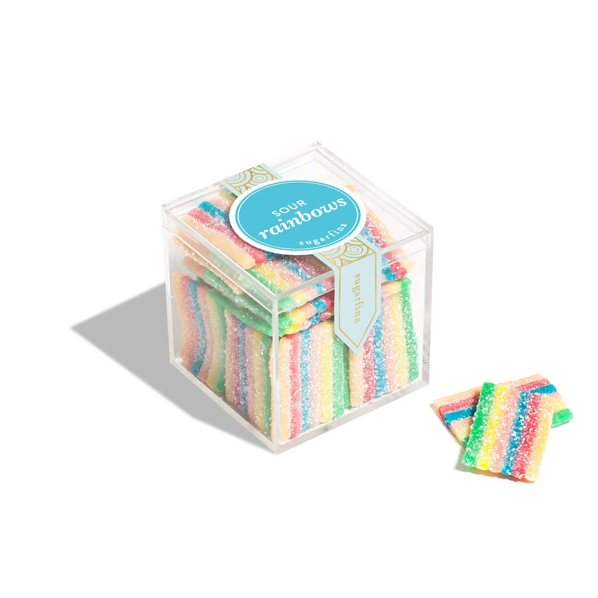 Sour Rainbows - Small Candy Cube
