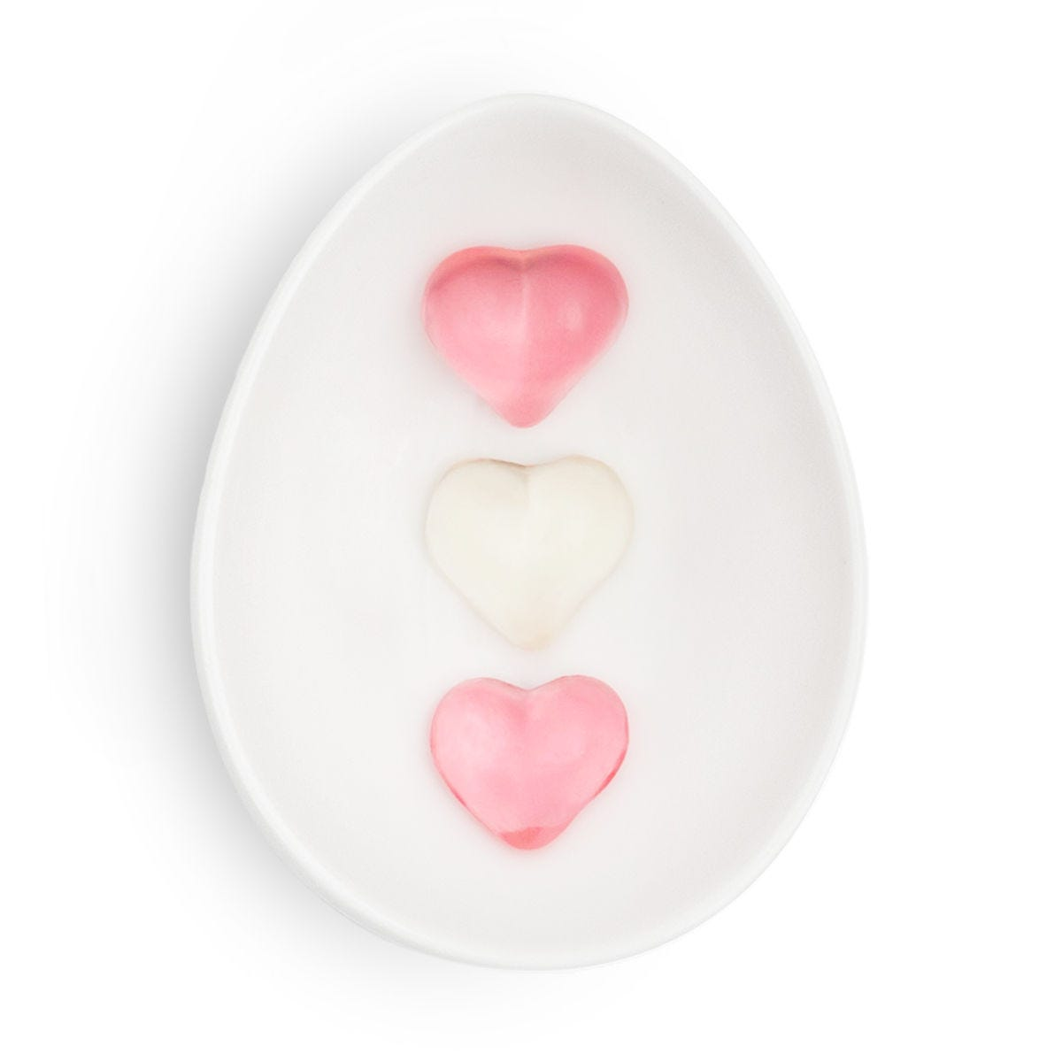 Sugar-Free Champagne Hearts - Small Candy Cube