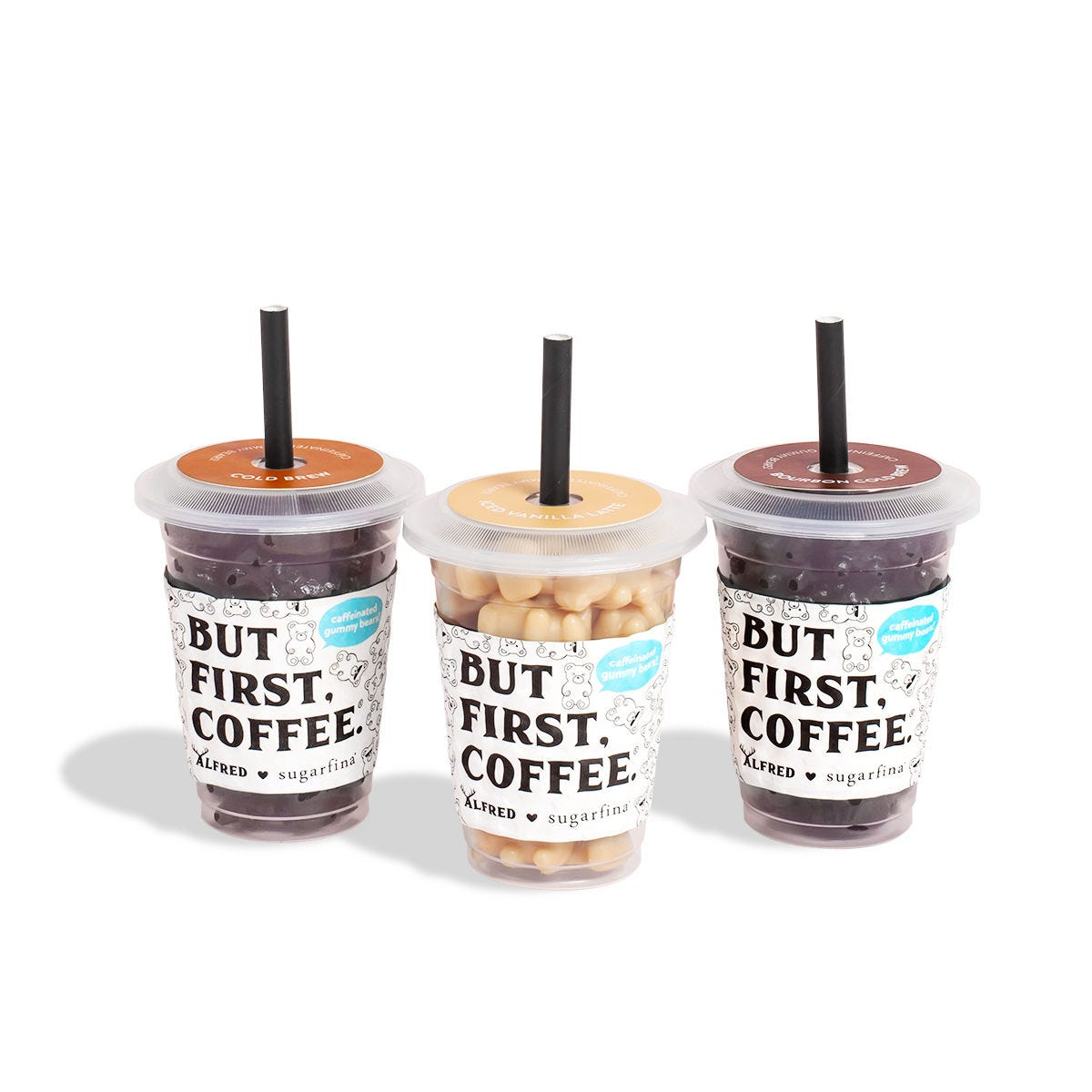 Cold Brew Bears - Pick 3 Mini Coffee Cups