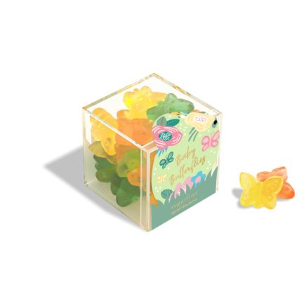 Baby Butterflies Candy Cube