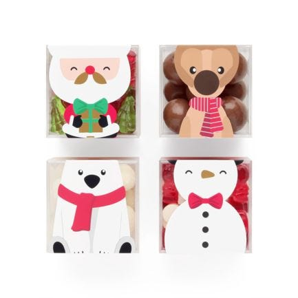 Santa & His Helpers Candy Cube Bundle