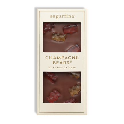 Champagne Bears Milk Chocolate Bar