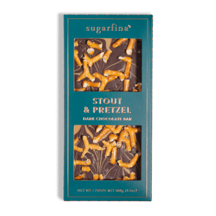 Vice Collection Stout & Pretzel Dark Chocolate Bar
