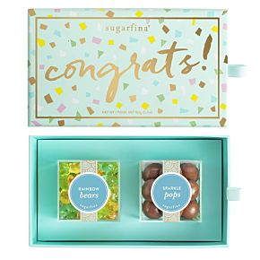Congrats 2 Piece Candy Bento Box