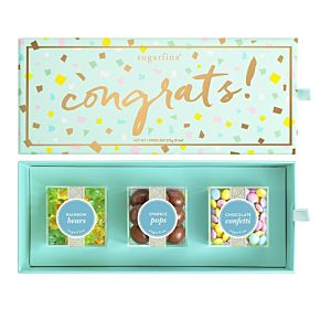 Congrats 3 Piece Candy Bento Box
