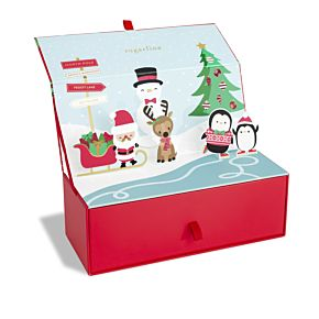 Merry Christmas Pop-up DYO Candy Bento Box™