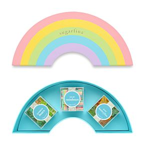 Rainbow 3 Piece Candy Bento Box