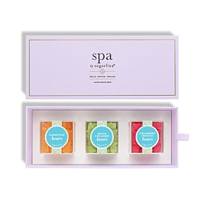 Spa by Sugarfina 3 Piece Candy Bento Box