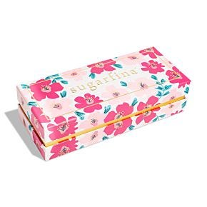 Design Your Own Floral 3 Piece Candy Bento Box