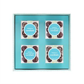 Top Shelf Cordials 4 Piece Candy Bento Box