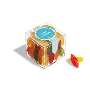Autumn Leaves - Small Candy Cube