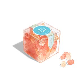 Baby Champagne Bears - Small Candy Cube