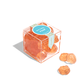 But First, Rosé Roses - Small Candy Cube
