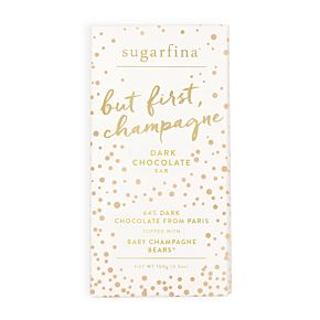 Dark Chocolate Baby Champagne Bears - Chocolate Bar