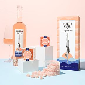 Hampton Water Rosé 3 Piece Candy Bento Box