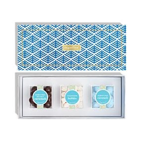 Happy Hanukkah 3 Piece Candy Bento Box