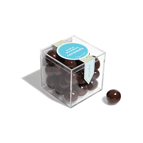 Maple Bourbon Caramels - Small Candy Cube
