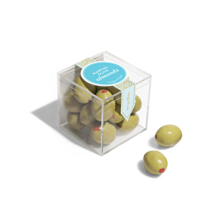 Martini Olive Almonds - Small Candy Cube