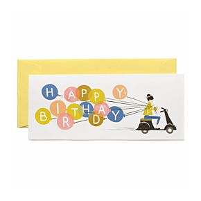 Birthday Scooter Card