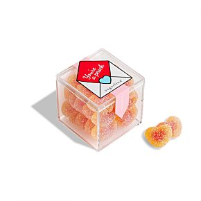 """You're a Peach"" Peach Bellini Candy Cube"
