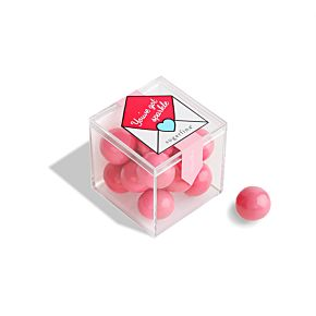 """You've Got Sparkle"" Pink Sparkle Pops Candy Cube"